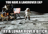 Unimpressed Astronaut