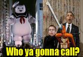 Obama Marshmallow Cannon