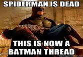 Batman the Spiderman killer