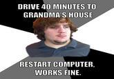 Grandma on the Computer
