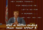 Mass Effect 3 Endings Reception