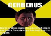 Scumbag Cerberus