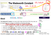 The Wadsworth Constant