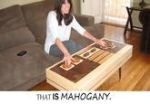 That Is Mahogany
