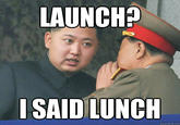 Hungry Kim Jong-un