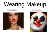 What You Think You Look Like vs. What You Actually Look Like