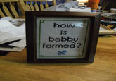 How Is Babby Formed?