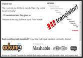 Bad Translator