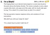 The Singing Shark