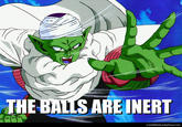 The Balls are Inert