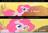 Pinkie Pie Breaking The 4th Wall
