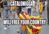 Catalonia is black