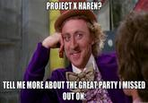 Project X Haren