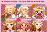 Zelda's Reaction