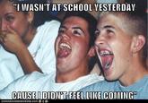Immature High Schoolers