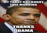 Thanks, Obama!