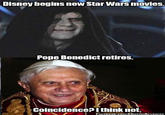 Pope Benedict XVI's Resignation