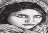 Afghan Girl Photo