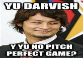 Yu Darvish's Near Perfect Game