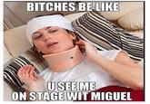 Miguel's Fan-Kicking Stage Dive