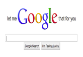 Let Me Google That For You / LMGTFY