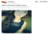 Selfies at Funerals