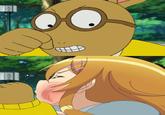 Arthur Punches D.W.