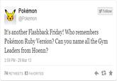 Hoenn Confirmed
