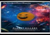 Hillary Clinton's New York Times Magazine Cover