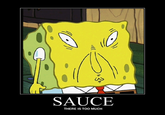 SpongeBob Uses Too Much Sauce