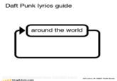 Song Lyric Flowcharts