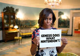 Michelle Obama's #BringBackOurGirls Sign