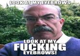 Eyebrow man
