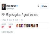 Maya Angelou's Death