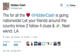 @HiddenCash Scavenger Hunt