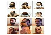 Beard Shaving Comic Parodies