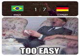 2014 World Cup Semfinal: Brazil vs. Germany