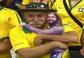 Jared Leto Hugging Things