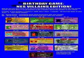 Birthday Scenario Game