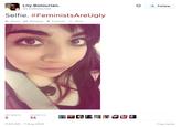 #FeministsAreUgly
