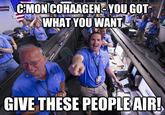 Come on Cohaagen, you got what you want. Give these people air!