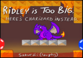 Ridley is Too Big