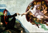 The Creation of Adam Parodies