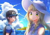 Anime lillie pok mon sun and moon know your meme - Fresh silvally wallpaper ...