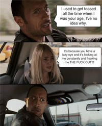 The Rock Driving