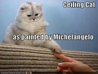 Funny-pictures-ceiling-cat-as-painted-by-michaelangelo