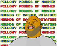 Pillowy Mounds of Mashed Potatoes