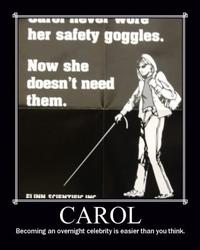 Carol's Safety Goggles