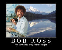 Photoshop Bob Ross
