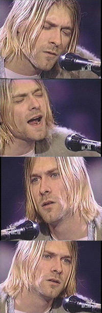 Kurt Cobain Reaction